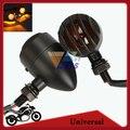 Bullet Motorcycle Turn Signal Indicator Tail Light Lamp Amber Lighting For Harley Davidson Chopper Bobber Cafe Racer Cruiser