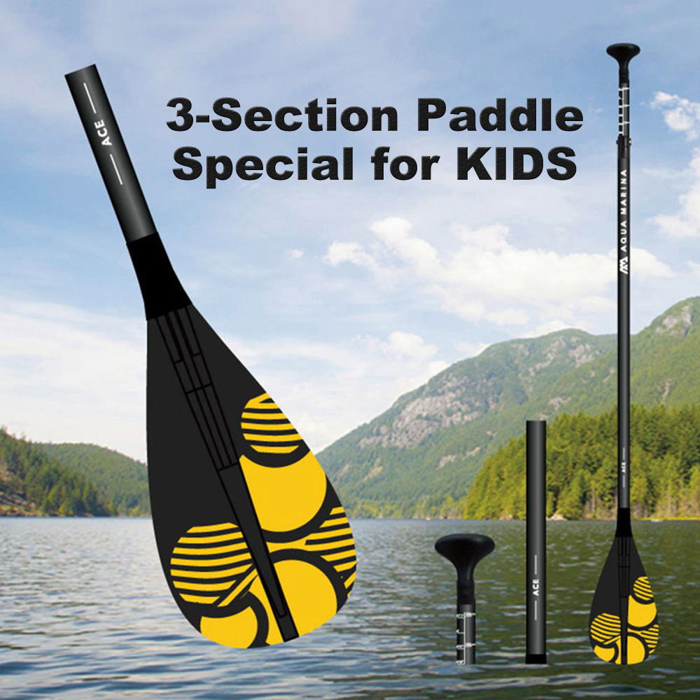 Ace iSUP 3 Section Paddle for Children Aluminum alloy Stand Up Paddle Board Paddle Kayak Paddle