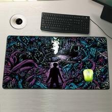 Mairuige Shop  600×300/800×300/900x400mm Horizon Locking Edge Mouse Pad Gamer Large Computer Keyboard Mat Table Gaming Mousepad