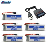 Charger Sets 3.7v 500mAh for JJRC E50 E50S T37 JJRC H37 Drone RC Dron Helicopter Lipo Battery and 5 in 1 Charger Spares Part|Parts & Accessories| |  -