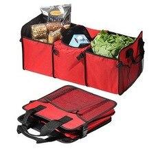 Car trunk Rack Storage Box organizer Drink Food Insulation Ice Basket AutoTool Container Automobiles Interior Accessories items
