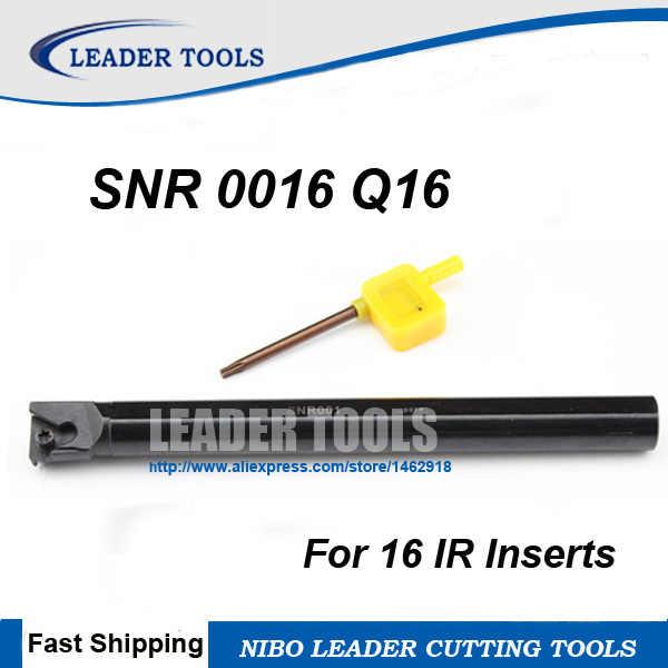 SNL0016Q16 1pcs 16×180mm Threading Turning Boring Bar Holder for 16ER CNC Insert