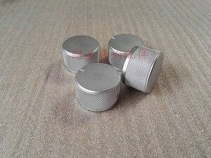 1 шт. все алюминиевые ручки с накатанной головкой диаметр 35 мм Высокий 22 мм усилитель мощности твердая ручка вращаемая Кнопка потенциометра ...