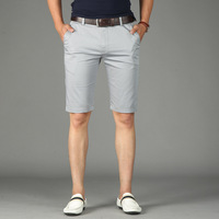 Tace Shark Brand Casual Shorts Men Clothes 2018 Short Pants Men Cotton Straight Knee Length Regular Fit short homme Plus Size 44