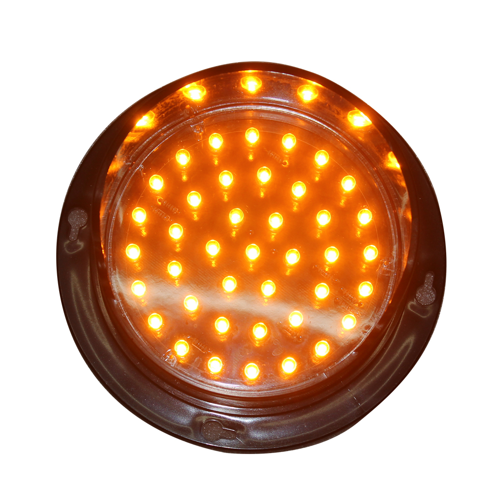 LED Flashing Arrow Board Module 4 Inch 100mm 12V Yellow Traffic Light