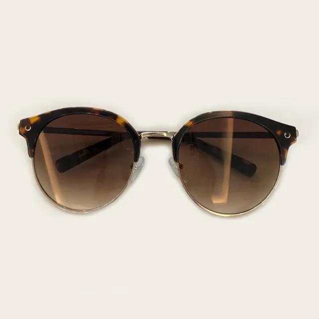 2019 Classic Round Sunglasses Fashion Rays Sunglasses Men Women UV Protect 100% UV400 Rivet Sun Glasses Male Female Shades Vinta