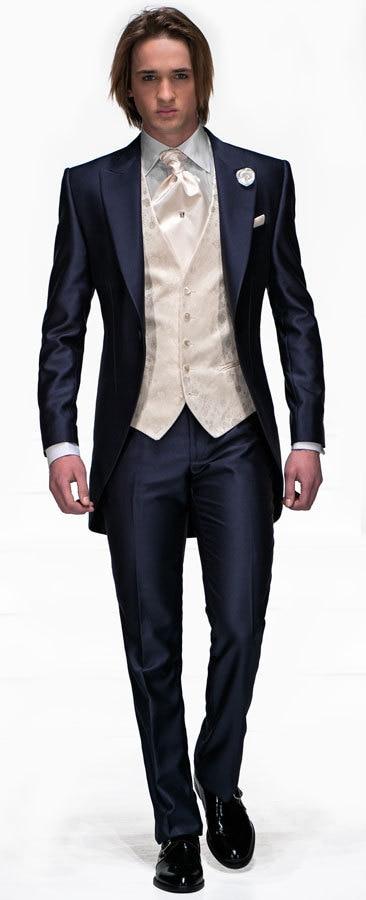 Venta caliente Classic Groom Tuxedo Groomsmen 6 estilos Boda / Cena / - Ropa de hombre