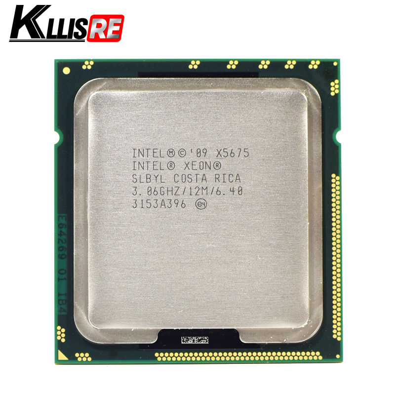 Intel Xeon X5675 3.06GHz 12M Cache Hex 6 SIX Core Processor LGA1366 SLBYL QTY:1-in CPUs from Computer & Office