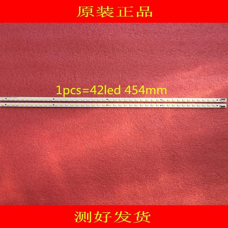 2piece/lot  LED Backlight Strip For Sony 40inch KDL-40HX720 LJ64-02884A STS400A29_42LED 1pcs=42led 454mm