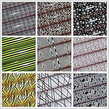NEW 10PCS multi-pattern food transfer paper / chocolate baking DIY sheet 31X20.5CM