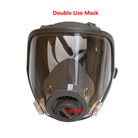 Safety Painting Spraying Double Use Gas Mask Samilar For 3M 6800 Gas Mask Full Face Facepiece