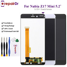 Original สำหรับ ZTE Nubia Z17 Mini จอแสดงผล LCD Touch Screen Digitizer Assembly NX569J NX569H/J ทดสอบดีสำหรับ Nubia z17 Mini Lcd(China)