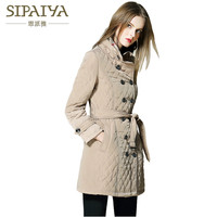 SIPAIYA 2017 Winter Jacket Womens High Quality Famous Brand Coat Warm Outwear Padded Cotton Jacket Coat