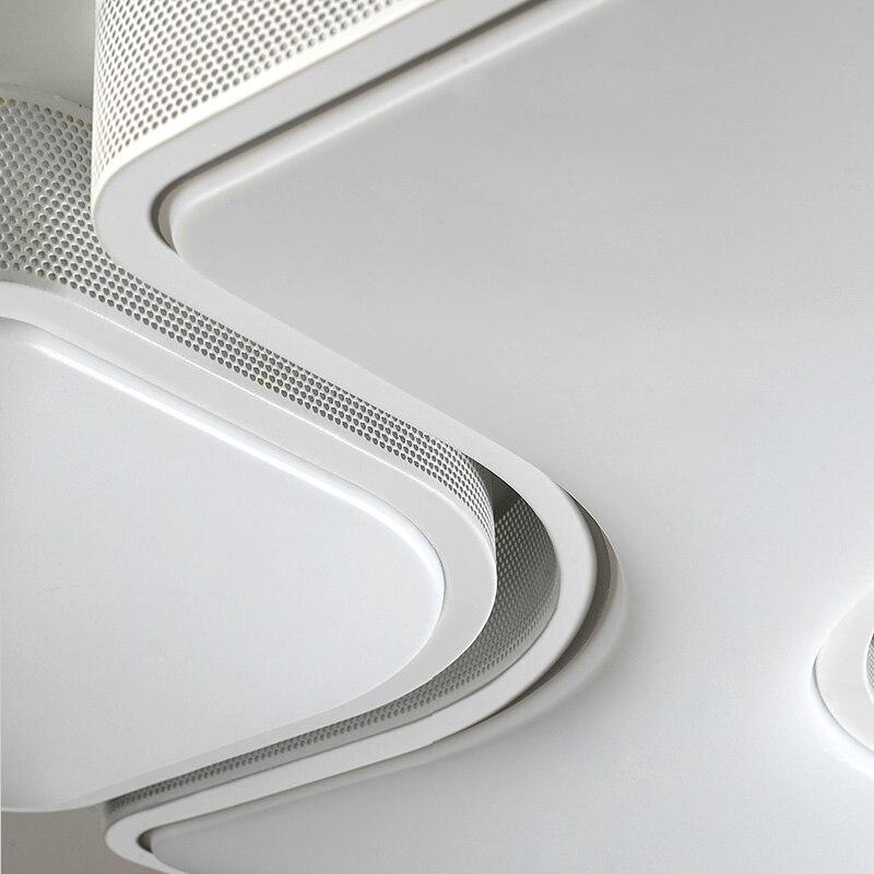 White Modern Led Ceiling Lights For Living Room Bedroom 220V Indoor lighting Ceiling Lamp Fixture luminaria teto