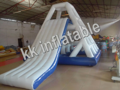 High Quality Tower Inflatable Floating Water Slide Inflatable Water Slide
