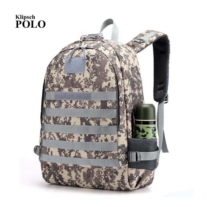 PUBG Backpack Men Bag Mochila Pubg Battlefield Infantry Pack Camouflage Travel Nylon Headphone Jack Back Bag Knapsack New модные повседневные топы battlefield jeep jack men slim charm jackets мужские куртки 17048zj72 черный 3xl