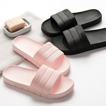 Bothe diapositives femmes été pantoufles plage diapositives maison pantoufles talon plat sandales femmes chaussures intérieur tongs Zapatillas Mujer