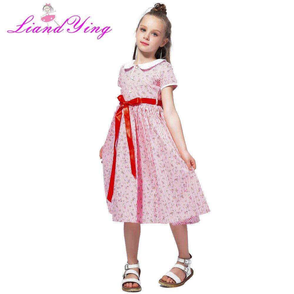 2018 niñas Vestido Floral de verano Vestido vestidos para niñas ...