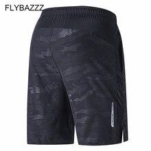 Plus Size Running Sport Men's Quick Dry Shorts Elastic Pocket Training Fitness Soccer Jersey Sportswear Basketball Loose Shorts