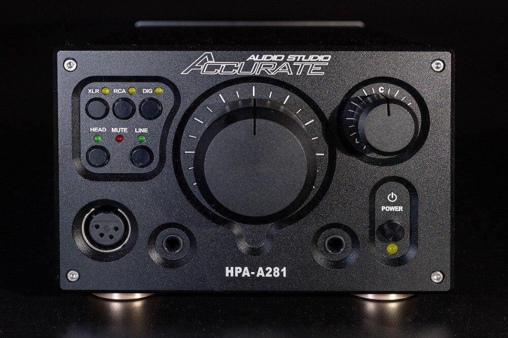 HPA-A281 haut de gamme équilibré casque écouteur amplificateur amplificateur numérique XLR/RCA stéréo copie/référentiel Violectric HPA V281 préamp