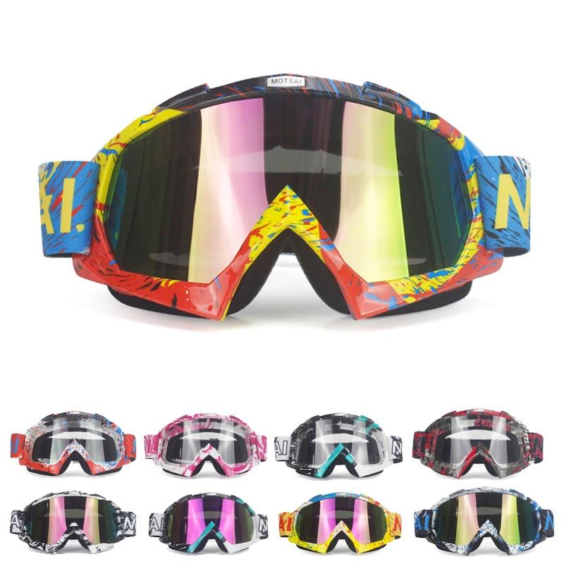 2018 Motocross Goggles MX Off Road Helmets Goggles Ski Sport Gafas for Motorcycle Dirt Bike Racing Google Glasses Men Women fox racing youth main goggles roll off kit