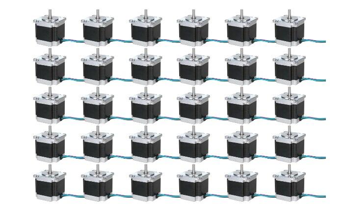 30 axe de L'allemagne à L'UE 23HS6430 nema23 moteur pas à pas, 1.2n.m, 3A, 56mm CE, ROSH AVEC DHL