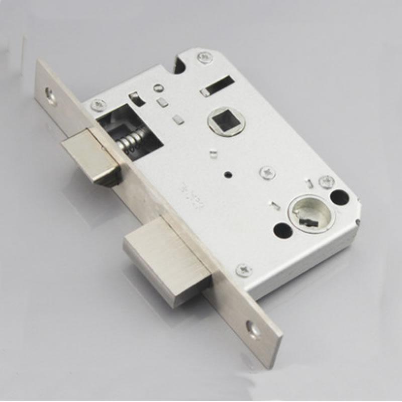 45*50, Fake Mortise Lock Body, 304 Stainless Steel, Friction, Lift, Anti-lock, Door, Lock Core Fittings