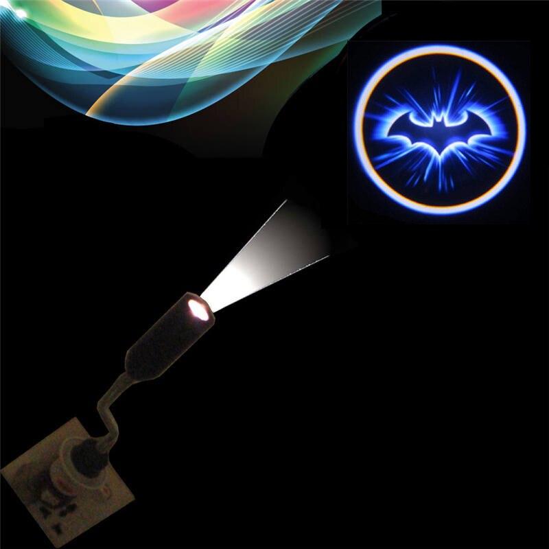 Batman Projection Door light 110V / 220V E27 Bar Hotel Logo Advertising bulb lamps spotlight Replaceable Films Custom Design