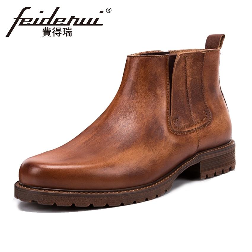 2018 Vintage Genuine Leather Men