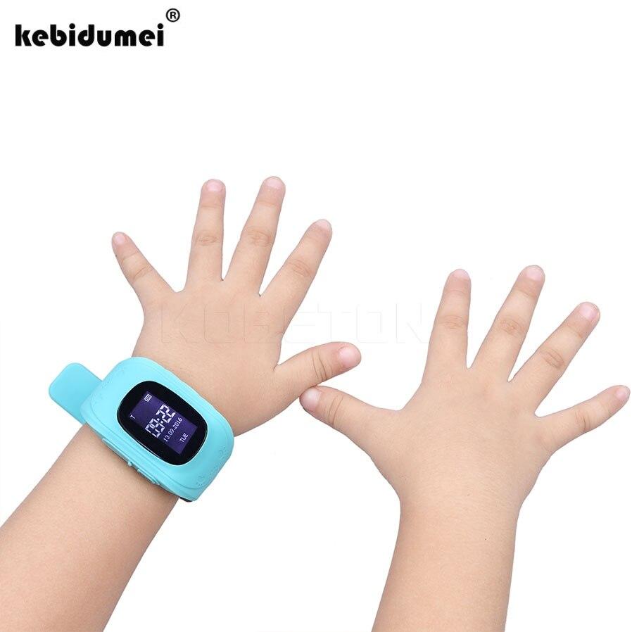 Q50 смартфон часы детские наручные часы GSM GPRS GPS трекер анти-потерянный SmartWatch ребенку Guard для IOS android Горячие