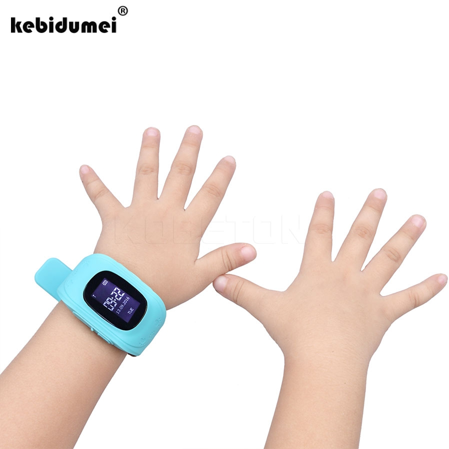 Q50 Smart Phone Watch Children Kid Wristwatch GSM GPRS GPS Locator Tracker Anti-Lost Smartwatch Child Guard for iOS Android Hot
