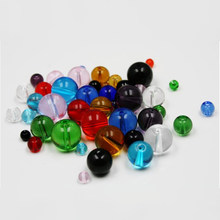 Mulitcolor 4/6/8/10/12mm Rondelle Crystal Glass Beads Round Loose Spacer Beads Charms For Necklace Bracelet Jewelry Making(China)