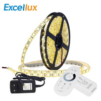 60leds/m 5050 Led Strip Light 12V Led Ribbon Strip Flexible Neon Lamp 5M/lot With RF Remote Controller + 3a Adapter,DC Connecter