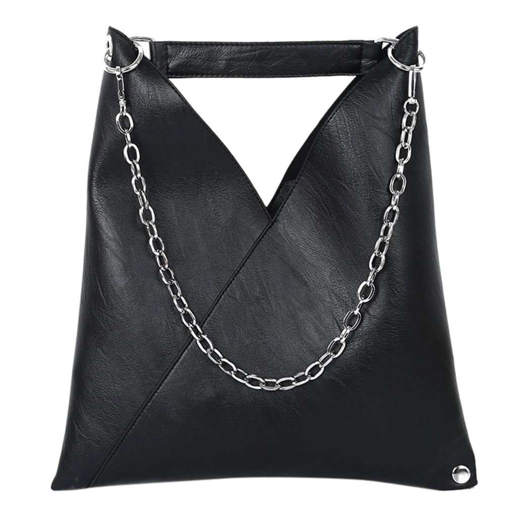 Crossbody Bags For Women 2019 Simple Wild Shoulder Bags For Women 2019 New Handbag Retro Chain Fashion Shoulder Bag K711