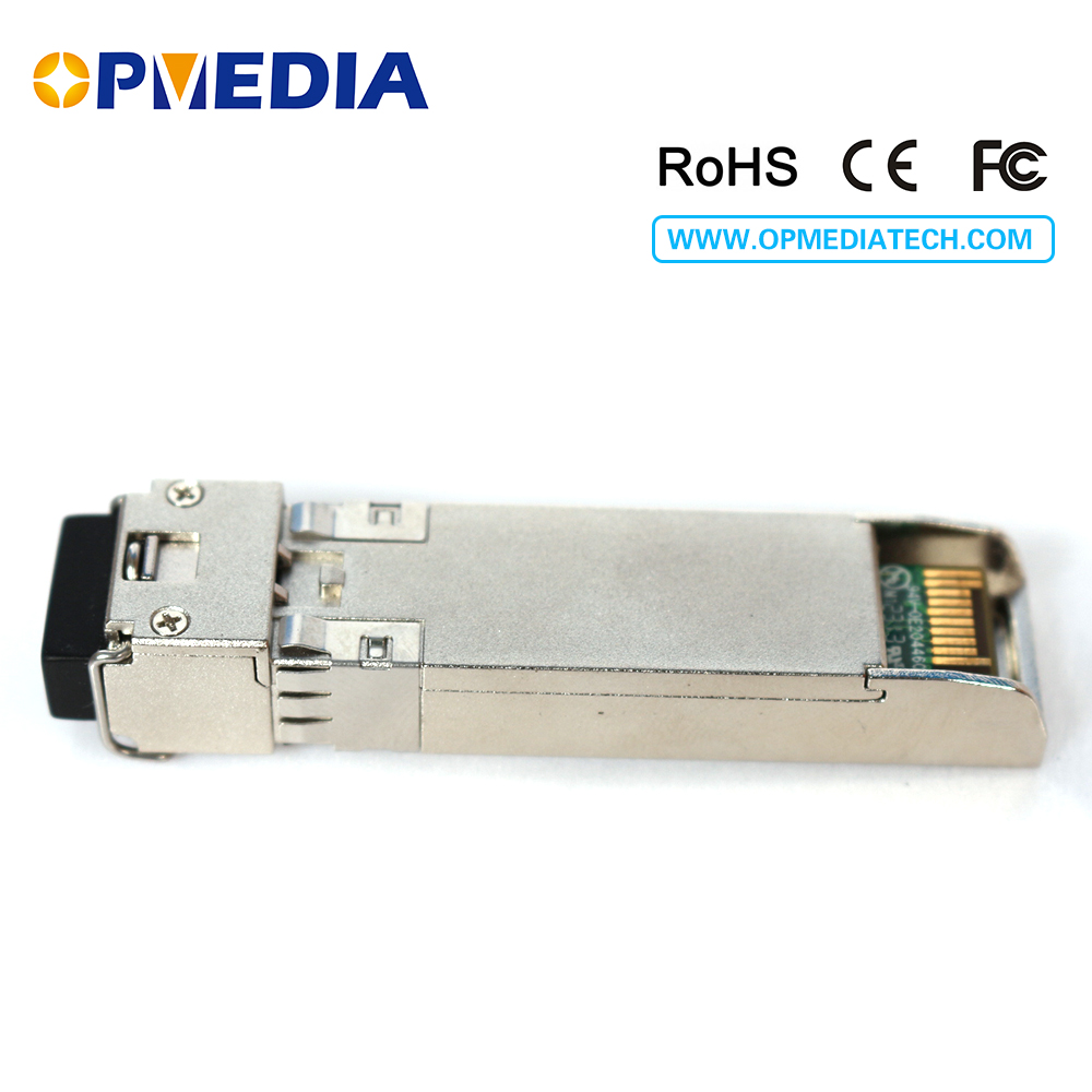 Купить с кэшбэком 10GBASE CWDM SFP+ transceiver, 10G 40KM 1470~1610nm ER SFP+ optical module,LC connector,DDM,Compatible with Juniper equipments