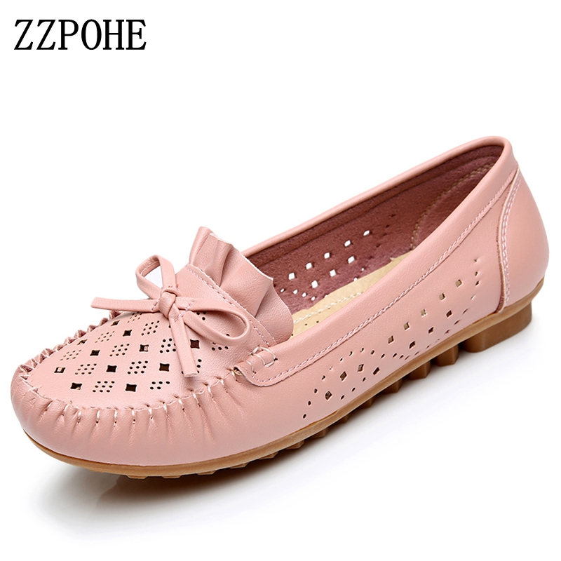 Zzpohe Spring Women S Shoes Fashion Breathable Mom Casual