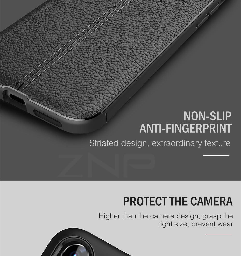 HTB1hRDCXnHuK1RkSndVq6xVwpXam - ZNP Luxury Shockproof Matte Cover For iPhone 6 7 8 Plus 6s Case Leather Carbon Fiber Leather For iPhone X XR XS Max Phone Case