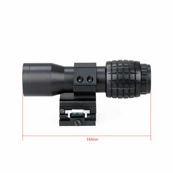Mira con lupa WIPSON 4X Aimpoint, mira para caza Airsoft con 551 552 553