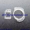 100% original sensor de luz y cámara frontal del anillo de plástico del clip del sostenedor soporte para iphone 6 6 plus envío gratuito 50 set/lote