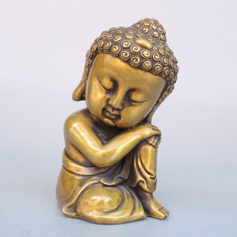 Pure copper, Sleeping Buddha, brass, Shakya Muni bronze carving apartmentsPure copper, Sleeping Buddha, brass, Shakya Muni bronze carving apartments