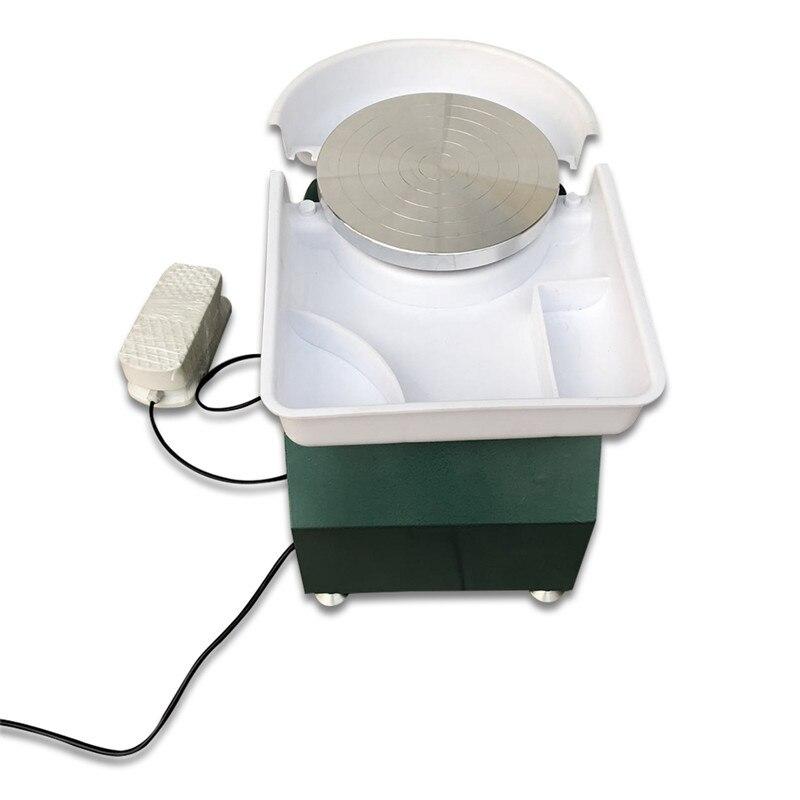 110 V/220 V Tours électriques Machine de roue de poterie pour le travail en céramique Art céramique pédale d'argile pour le travail en céramique 250 W - 2