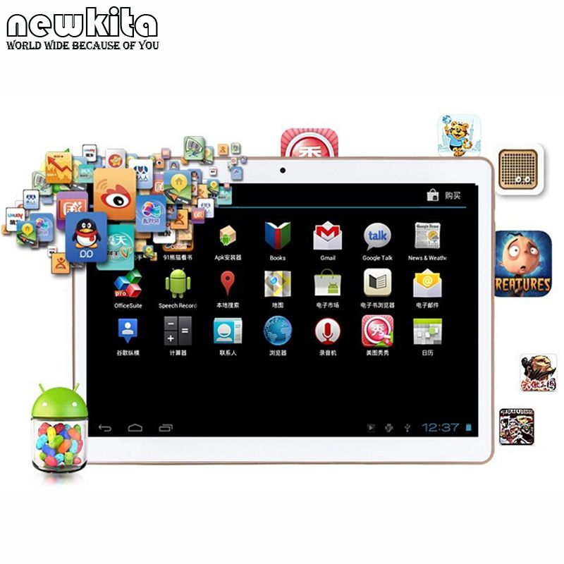 Tablet 9.6 inch 3G Octa Core Android 5 Tablet PC 4G RAM 32GB ROM Dual SIM 1280*800 IPS Bluetooth GPS Tablets 10.1 teclast p98 9 7 ips octa core android 4 4 3g tablet pc w 2gb ram 16gb rom dual cam tf gold