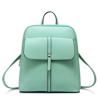 LOVEVOOK Brand Fashion Women Backpacks For Teenage Girls High Quality Shoulder Bag Female Zipper School Bags