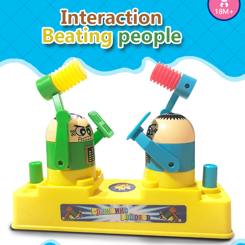 Explosive Hand Presses Double Pairs Of Toys Interactive Game Pairs Play Against Desktop Decompression Toys Board Games Console