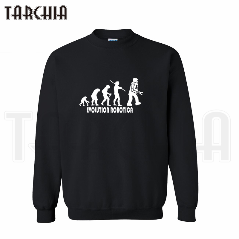 TARCHIA 2019 fashion hoodies pullover robotica sweatshirt personalized evolution man coat casual parental survetement homme boy