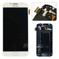 100% Original For Samsung galaxy S6 lcd display touch screen digitizer G920w8 G920F LCD with frame freeshipping
