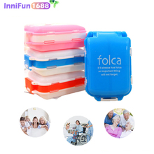 Cofoe Weekly Pill Cases Medicine Storage for 7 Days Tablet Sorter Dispense Box Container Daily Pills  Case Organizer Health Care