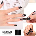 2016 Noble Black UV Gel Nail Polish Art Sticker 3D Decorations Stickers High Quality DIY Wraps Spray Nails Film Foil Beauty