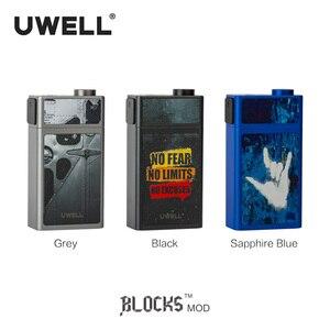 Image 5 - В наличии! Блок мод UWELL Squonk, аккумулятор 18650, 90 Вт, 15 мл, герметичный разъем 510, моды для электронных сигарет