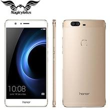 Original Huawei Honor V8 4G LTE Mobile Phone 4GB RAM 64G ROM 5.7 inch Android 6.0 Kirin 950 Octa Core Dual Rear 12.0MP 3 Camera
